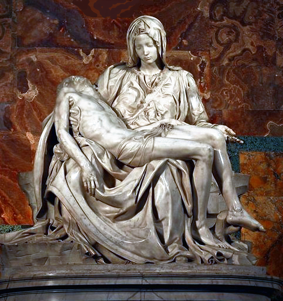 Website - A30 - Pieta by Michelangelo