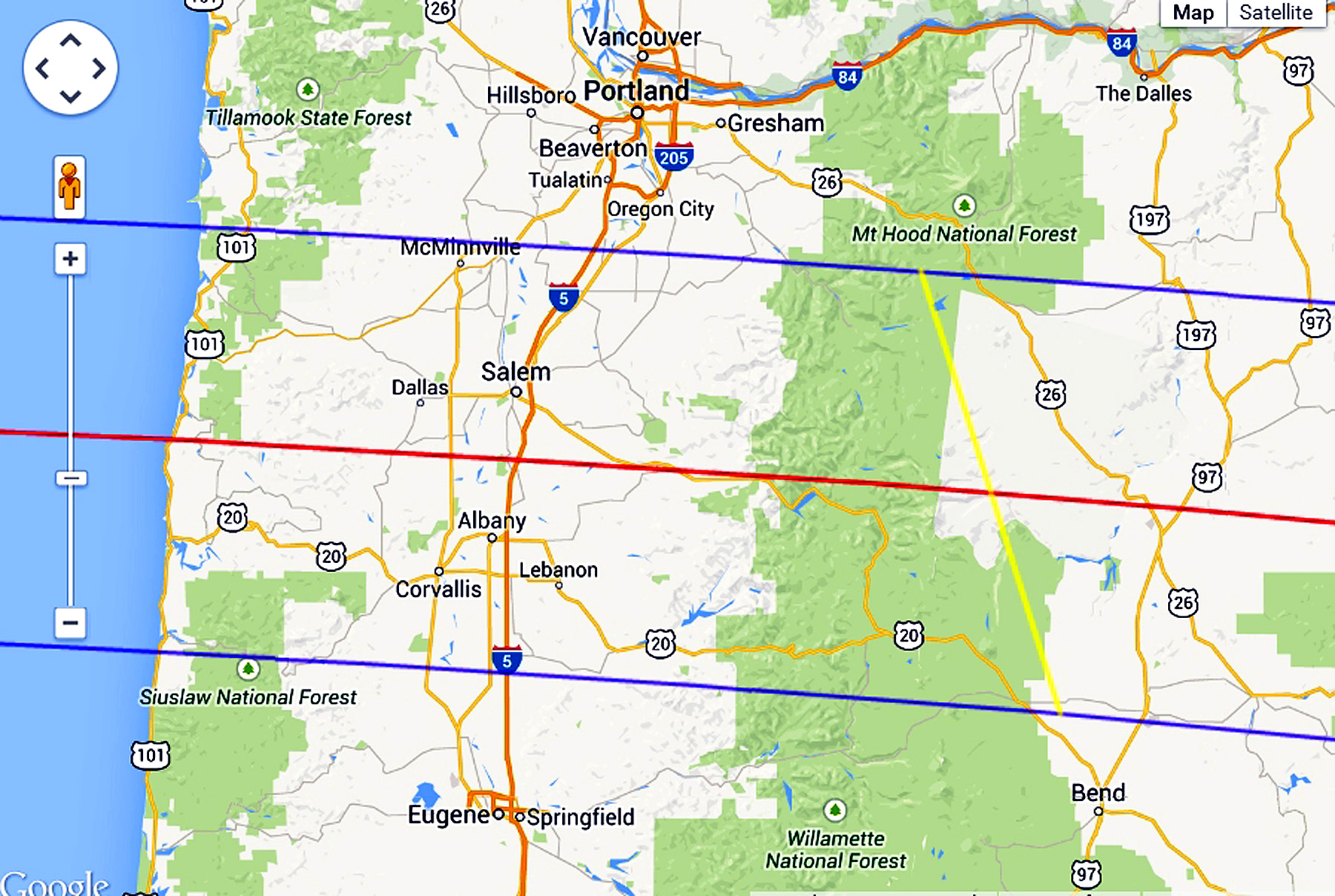 22 Model Map Oregon Eclipse afputracom