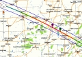 Eclipse 2017 - A12 - Path through the Midwestern USA